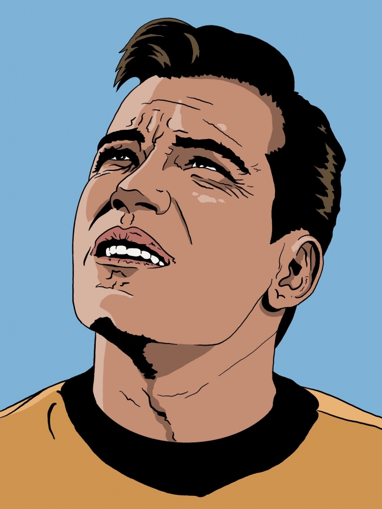 William Shatner by Oliversum